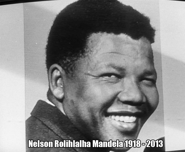 R.I.P. Nelson Mandela!